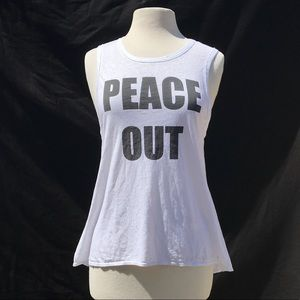 Chaser: Peace Out Muscle Tank